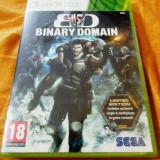 Joc Binary Domain Limited Edition, xbox360, original si sigilat, 49.99 lei!