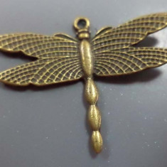 Pandantiv /cercei /martisor din bronz libelula