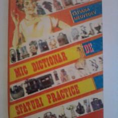 Mic dictionar de sfaturi practice - Tatiana Medvedev - Carte Ghidul mamei