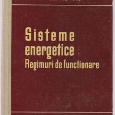 10A(000) I.M.Markovici-SISTEME ENERGETICE .Regimuri de functionare - Carti Energetica