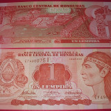 HONDURAS 2010 - 1 LEMPIRA - UNC