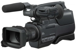 3 x camere video profesionale Sony HVR HD 1000 + baterii extra foto