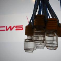 Set parfum - Vand parfum CWS FRUTTO in sticlute cu dop de lemn pentru masina dumneavoastra