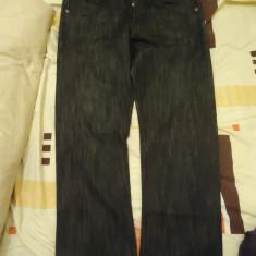 Jeans DC originali - Blugi barbati Dc Shoes, Marime: 32, Culoare: Negru, Lungi, Drepti