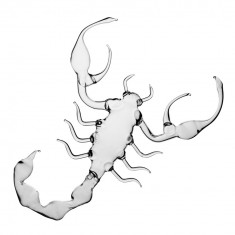 Scorpion din sticla termorezistenta (ZODIAC) - Arta din Sticla