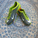 Ghete fotbal Nike, Marime: 44, Verde, Barbati - Nike mercurial superfly 2