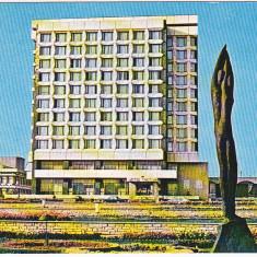 CP scrisa si necirculata, Gheorghe Gheorghiu Dej, hotel Trotus - Carti Postale Romania dupa 1918