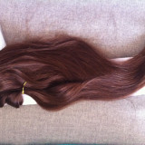 Extensii clip-on full head+volume!Culoare :4(maro)