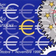ITALIA 1998 EUROPA IN CARNET 2 FOTO