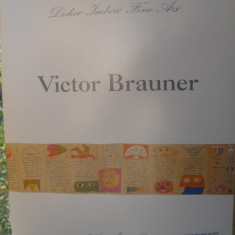 VICTOR BRAUNER ( lb franceza) Catalog Ed Didier IMBERT FIne Art 1990 - Album Pictura