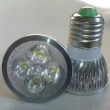 Bec/neon, Becuri economice, 0 - 10, > 10000, Interior - Bec Spot LED 4W 220V fasung E27 E14 echivalent cu 40W filament