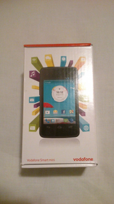 Telefon Mobil Vodafone 875 Smart Mini - Black foto mare