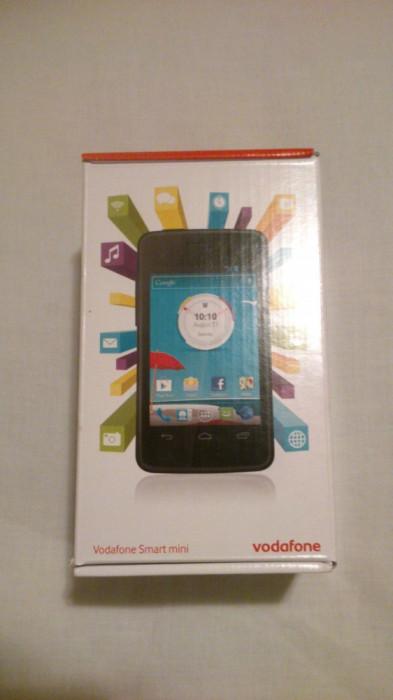 Telefon Mobil Vodafone 875 Smart Mini - Black foto mare