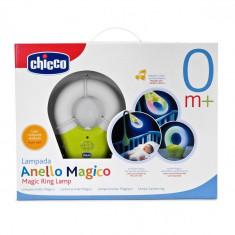 Lampa de veghe Chicco - Lampa veghe copii Chicco, Cu senzor, Verde