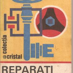 (C4320) REPARATI SINGURI DE VIOREL RADUCU, EDITURA ALBATROS, 1985 - Carte Hobby Amenajari interioare