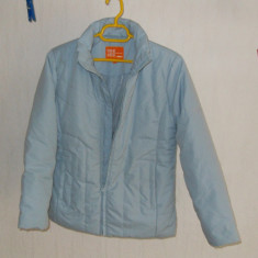 Geaca fete toamna/iarna - ONE by ONE - 11-12 ani/152, bleu, (masuratori)