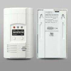 Alarma Senzor Detector Tester GAZ METAN, PROPAN, GPL, MONOXID DE CARBON CO - Sisteme de alarma