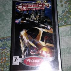Need For Speed Carbon - psp - Jocuri PSP Ea Games, Curse auto-moto