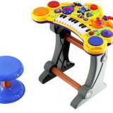 Instrumente muzicale copii - Orga electronica cu scaunel (CEL MAI IEFTIN)