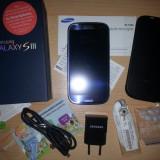 Samsung Galaxy S3 (GT-i9300) - Telefon mobil Samsung Galaxy S3, Albastru, 16GB, Neblocat, Quad core, 1 GB