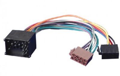 Cabluri mufe adaptoare adaptor Euro-Iso pentru radio casetofon CD auto BMW Land Rover Mini etc foto