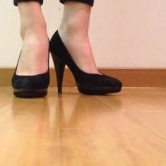 Pantofi Musette - Pantof dama, Marime: 36, Culoare: Negru