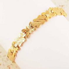 Bratara aur - Bratara Barbati filata cu Aur galben 9k, GFB1086