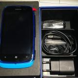 NOKIA LUMIA 610 - CUTIE! - BLUE - Telefon mobil Nokia Lumia 610, Albastru, Orange