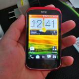 HTC Desire C Red Stare perfecta - Telefon HTC, Rosu, 4GB, Neblocat, Single SIM, Single core
