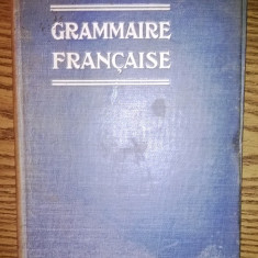 Carte veche - Carte - Rene Radouant - Grammaire francaise [1922]