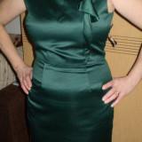 Rochie ZARA pentru ocazii speciale marimea L - Rochie cocktail, Marime: L, Culoare: Din imagine, L, Satin