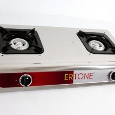 Aragaz pe gaz de butelie Ertone ERT-MN-204, 3 arzatoare