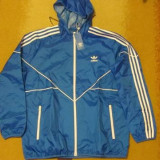 Geaca barbati Adidas, XL, Albastru - Geaca Adidas 100% originala .
