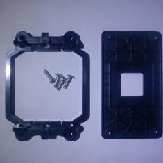 Suport proc bracket heatsink soclu prindere cooler Am2 Am2+ AM3 Am3+ Backplate - Protectie PC
