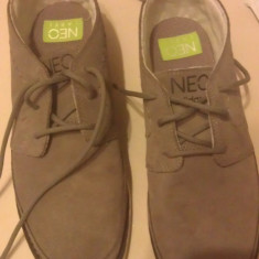 Adidasi barbati, Marime: 41, Gri, Piele naturala - VAND Adidasi Adidas NEO Label nr 41
