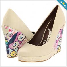 100% AUTENTIC - Sandale ED HARDY - Pantofi cu Platforma ED HARDY Ophelia - Pantofi Dama, Femei - Pantofi Originali ED HARDY - Pantof dama Ed Hardy, Marime: 39