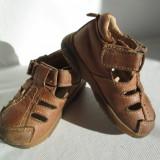 Sandale copii, marimea 22, din piele naturala