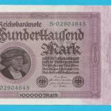 2. Germania 100000 mark 1923