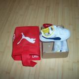 Adidasi copii Puma, culooarea negru, marimi 22