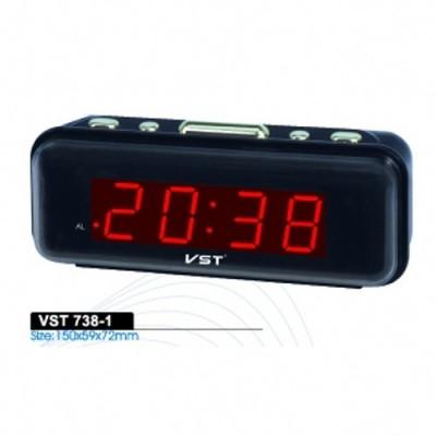 Ceas de Birou cu Alarma VST-738 FACTURA SI GARANTIE 12 luni foto