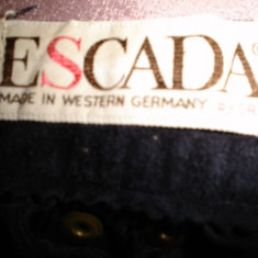 Pantaloni dama Escada, Piele - Pantaloni piele naturala, Escada, 100% originali