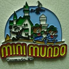 MAGNET MAGNETI FRIGIDER MINI MUNDO BRAZILIA