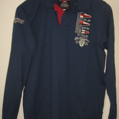 Bluza barbati, Polo, Bumbac - Bluza / tricou polo Hammersmith Italia, original 100%, bumbac 100%, M, nou