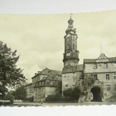 Carte postala - ilustrata - ARTA - WEIMAR - CASTELUL - GERMANIA - necirculata 1950-1970 - 2+1 gratis toate produsele la pret fix - RBK4824, Europa, Fotografie