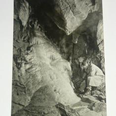 Carte postala - ilustrata - NATURA - PESTERA BARADLA - UNGARIA - scrisa anii 1950 - 2+1 gratis toate produsele la pret fix - RBK4828, Europa, Circulata, Fotografie