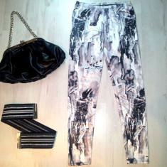 Pantaloni dama - Pantaloni / colanti eleganti / clubbing / marimea S.
