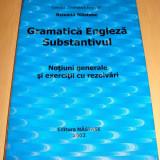 Teste admitere facultate - GRAMATICA ENGLEZA ( Substantivul ) - Roxana Nastase