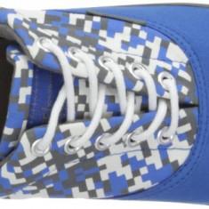Adidasi Jack and Jones Originali - Tenisi barbati Jack & Jones - panza - in cutie - 43, Culoare: Albastru, Textil