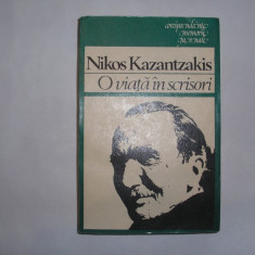 Nikos Kazantzakis - O viata in scrisori, rf4/2, RF8/1 - Biografie