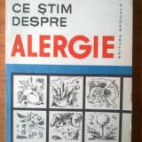 Carte Medicina - E2 Valentin Filip - Ce stim despre alergie